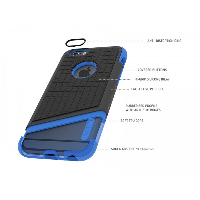 iphone 6 case black and blue